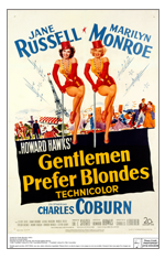 Gentlemen Prefer Blondes-poster