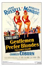 Gentlemen Prefer Blondes-poster