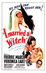 I Married a Witch-poster